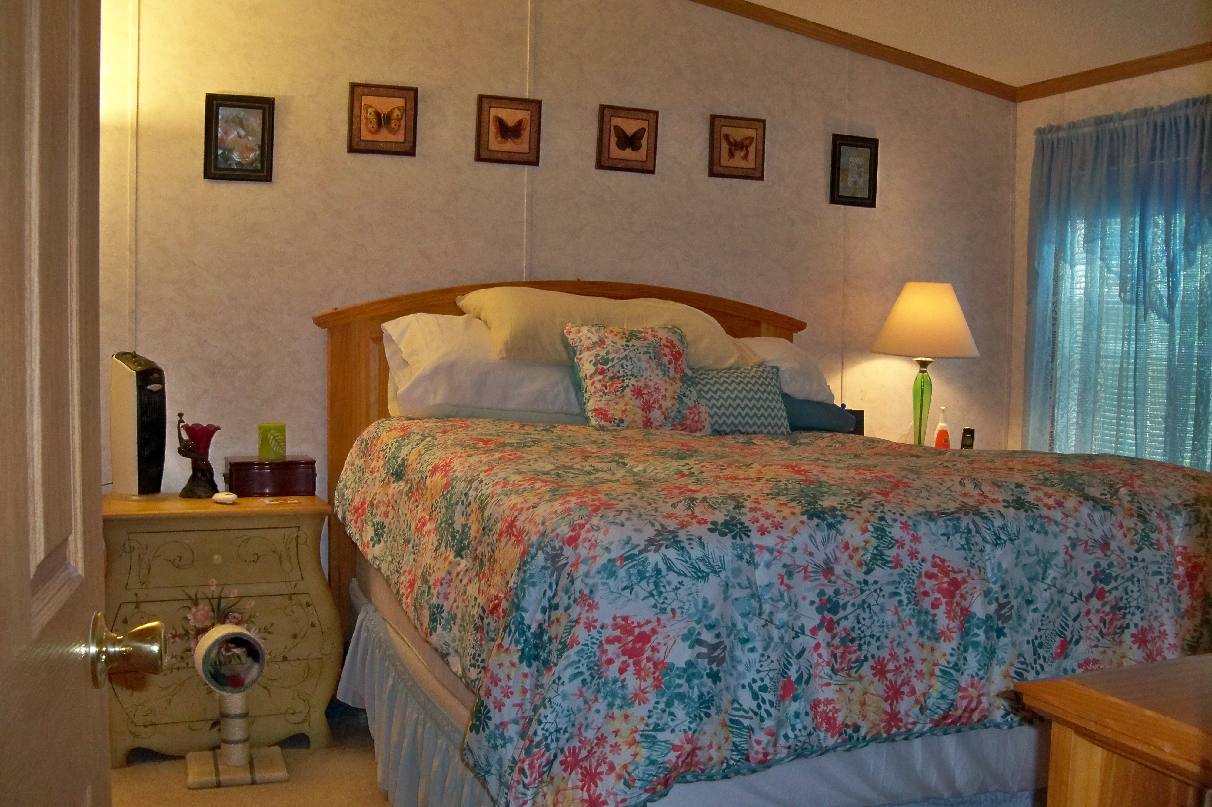 58 Mobile Master Bedroom