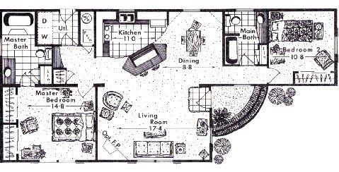 72 Mobile Floor Plan