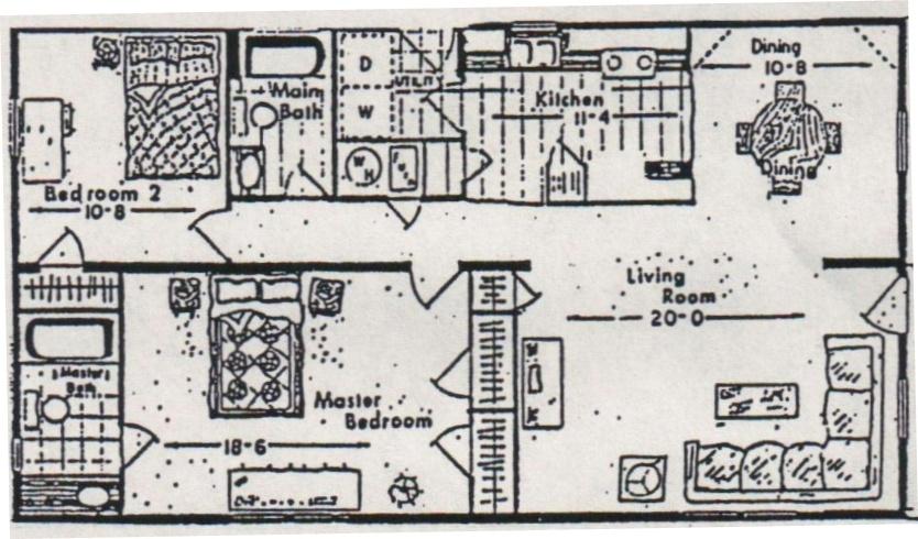 80 Mobile Floorplan